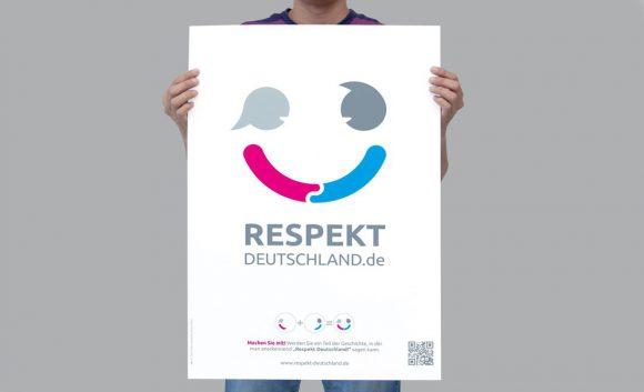 Respekt Deutschland Plakat