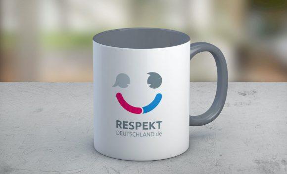 Respekt Deutschland Tasse