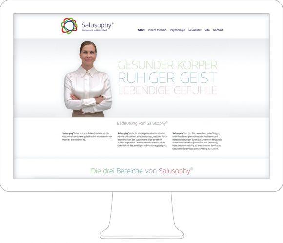 Salusophy Webdesign