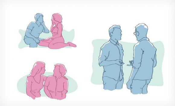 Diabetes und Sexualität Illustration