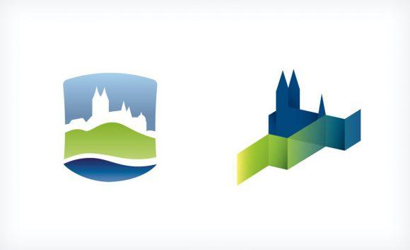 Alternative Entwürfe der Bildmarke Stadt Meißen