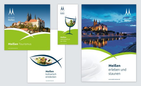 Layout Corporate Design Stadt Meißen