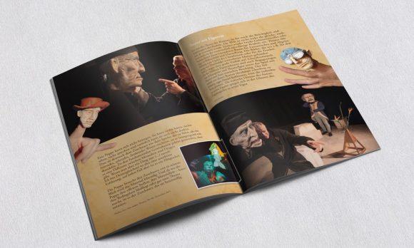 Puppentheater Die Vermessung der Welt Programmheft 2
